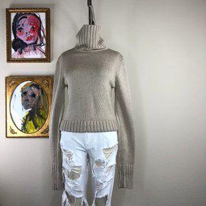 Theory Chunky Knit Turtleneck Sweater